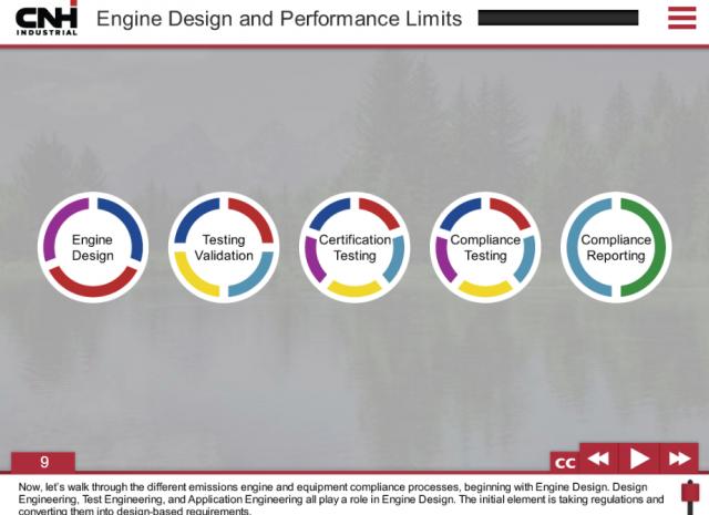 CNH Emissions Training