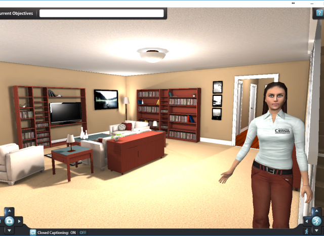 3D eLearning Simulation