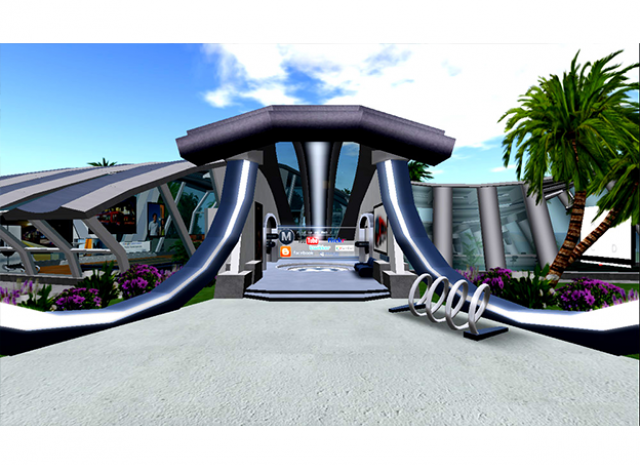 L.A. County Metro Transportation Authority Virtual Campus - Courtyard