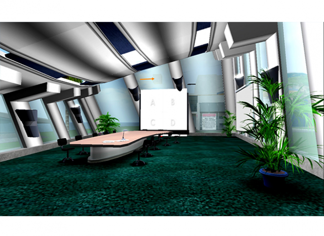 L.A. County Metro Transportation Authority Virtual Campus - Meeting Room