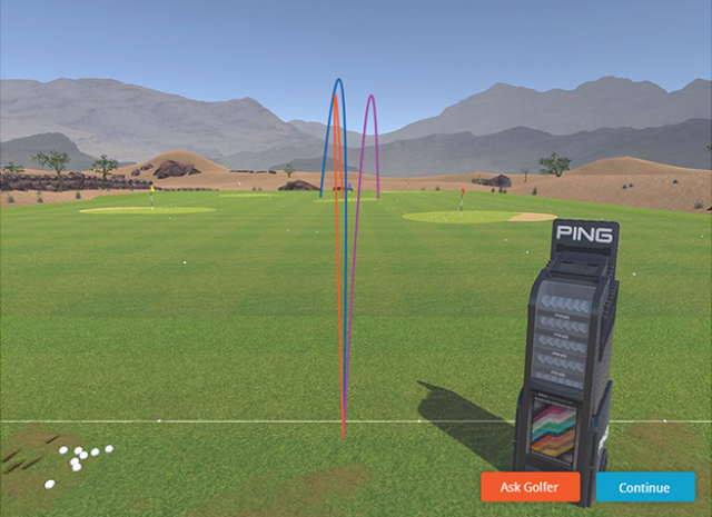 3D Learning Simulation Golf Clubs