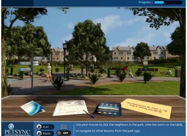 PETSYNC - Main Menu Screen Screen