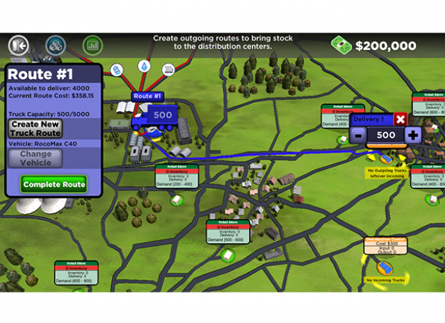 Supply Chain Management - New Truck Route