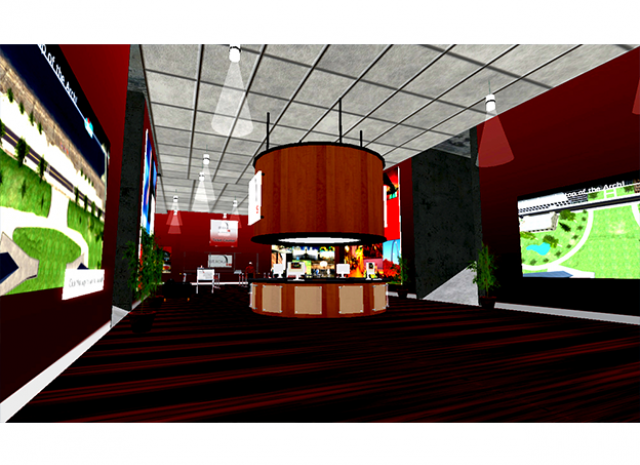 St. Louis Arch Virtual World - Bar