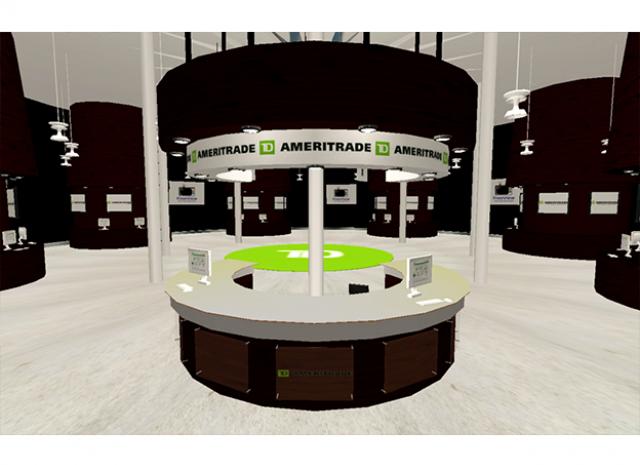 TD Ameritrade Virtual Headquarters - Booth