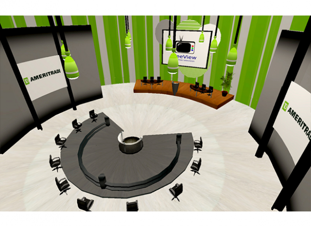TD Ameritrade Virtual Headquarters - Conference Room