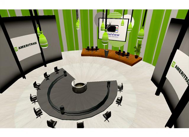 TD Ameritrade Virtual Headquarters - Conference Room