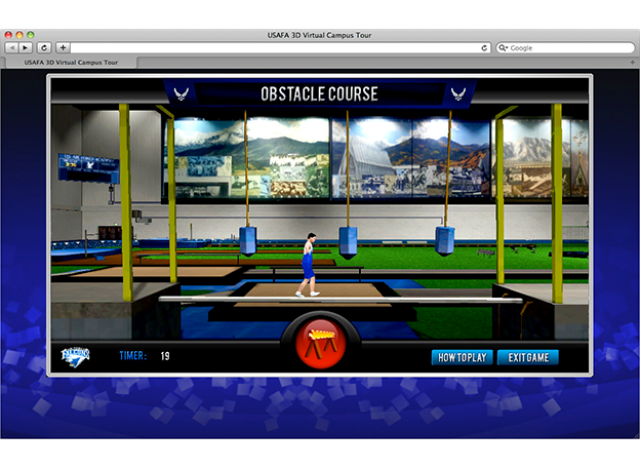 United States Air Force Academy - Obstacle Course