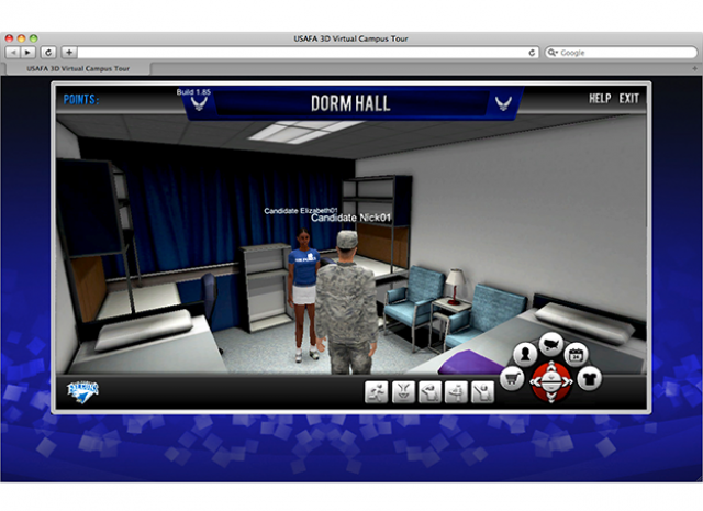 United States Air Force Academy - Dorm Hall