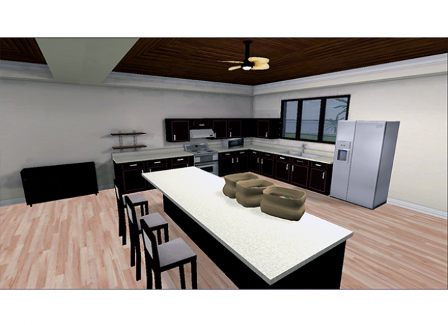 Virtual Occupational Therapy Assistant - Groceries on Table