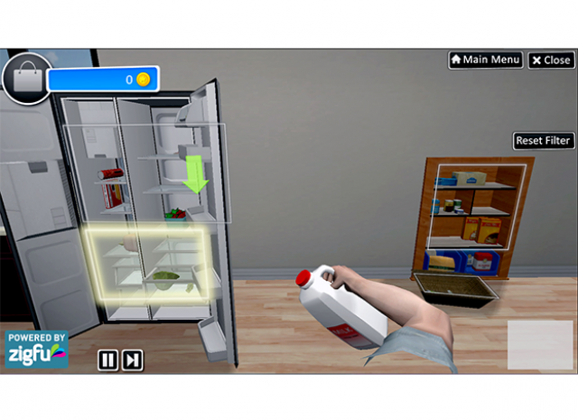 Virtual Occupational Therapy Assistant - Putting Items Away