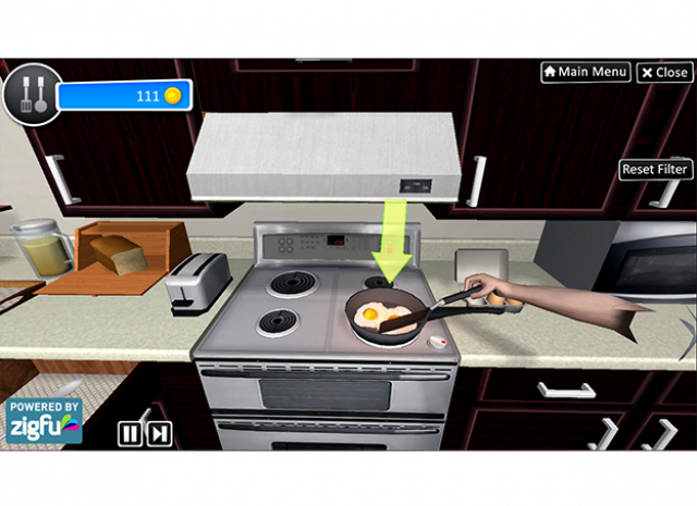 Virtual Occupational Therapy Assistant - Making Breakfast 2
