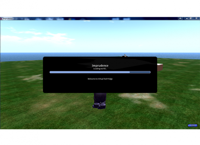 Wright Patterson Air Force Base (Tec^Edge) Virtual World Grid - Loading Screen
