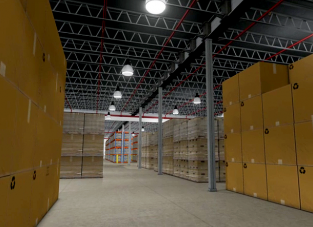 NFPA - 3D Warehouse boxes