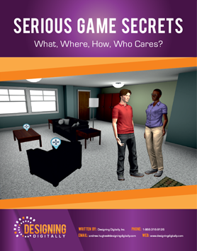 Serious Game Secrets by Designing Digitally