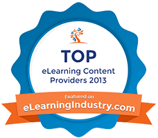 eLearning Industry 2013 Top 10 Content Development Company