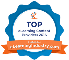 eLearning Industry 2016 Top 10 Content Development Company